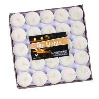 Свечи Чайные 100 шт  Цвет Белый (1)