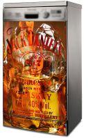 Наклейка на посудомоечную машину - Виски со льдом | Интерьерные наклейки