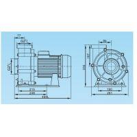 Насос AquaViva LX WTB550 90 м3/ч (7,5HP, 380В)