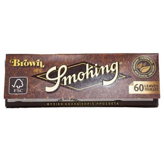 Cигаретная бумага Smoking King Size Brown 107*44 (33 шт)