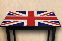 Наклейка на стол - Union jack | магазин Интерьерные наклейки