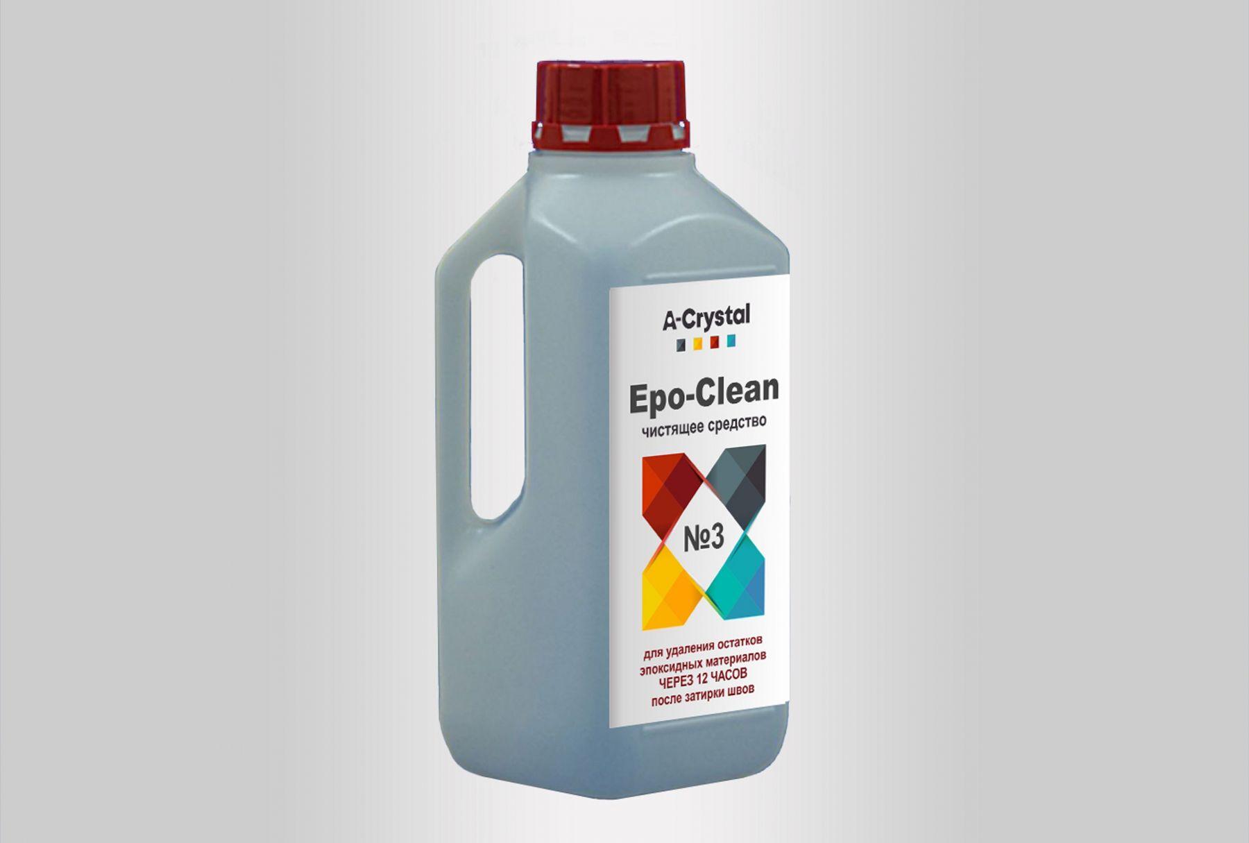 Очиститель затирки Epo-Clean №3 1 кг. 12 часов.