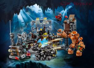 Конструктор Lari Супер Герои Вторжение Глиноликого в бэт-пещеру 11353 (76122) 1071 дет