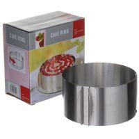 Раздвижная форма для выпечки Cake Ring, 16-30 см (5)