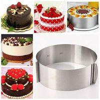 Раздвижная форма для выпечки Cake Ring, 16-30 см (2)