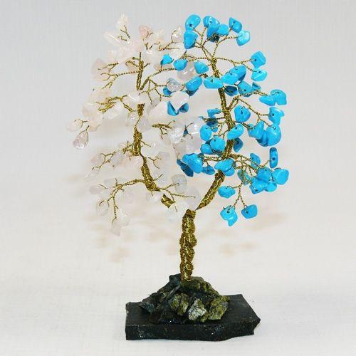 Дерево Любви - Хаолит и Розовый кварц