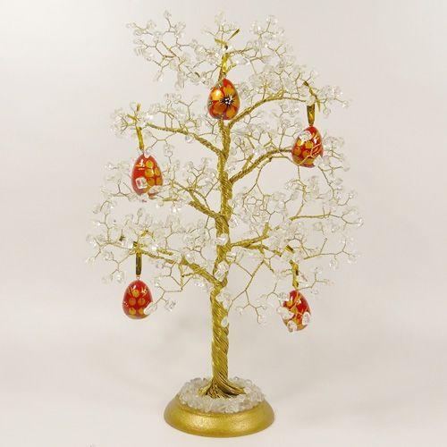 Пасхальное дерево - горный хрусталь