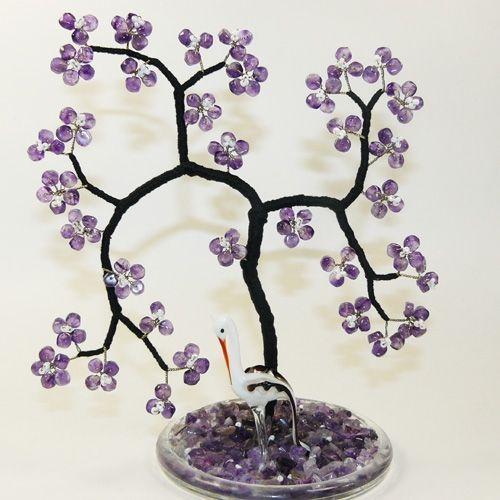 Сакура - Аметист дерево счастья