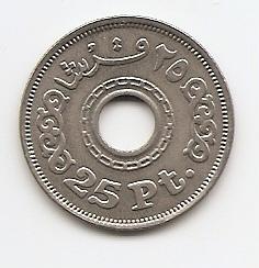 25 пиастров (регулярный выпуск) Египет 1993