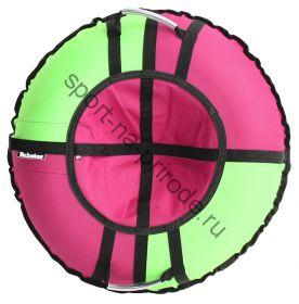 Тюбинг Hubster Хайп розовый-салатовый 90 см