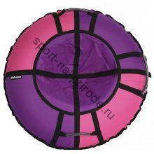 Тюбинг Hubster Хайп фиолетовый-розовый 100 см