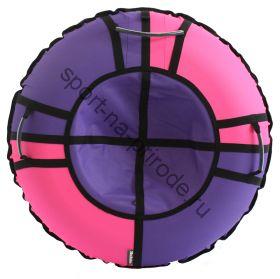 Тюбинг Hubster Хайп сиреневый-розовый 100 см