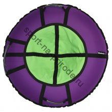 Тюбинг Hubster Ринг Хайп фиолетовый-салатовый 100 см
