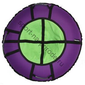 Тюбинг Hubster Ринг Хайп фиолетовый-салатовый 80 см