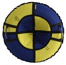 Тюбинг Hubster Хайп синий-желтый 110 см