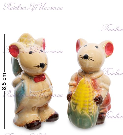 """Фигурка """"Мышка с кукурузой"""""""