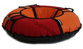 Тюбинг Hubster Хайп красный-оранжевый 80 см