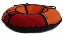 Тюбинг Hubster Хайп красный-оранжевый 90 см
