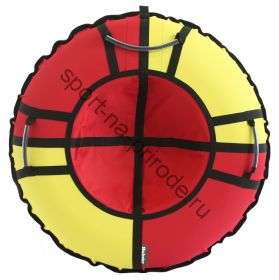 Тюбинг Hubster Хайп красный-желтый 110 см