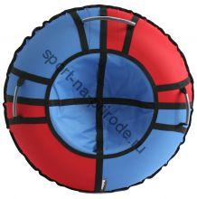 Тюбинг Hubster Хайп красный-голубой 110 см