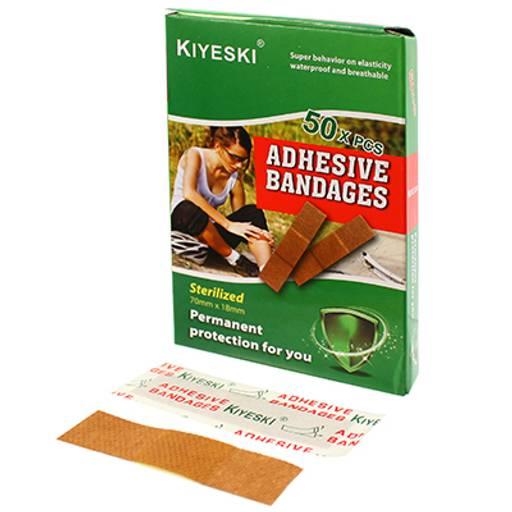 Пластырь Бактерицидный KIYESKI, 50 шт