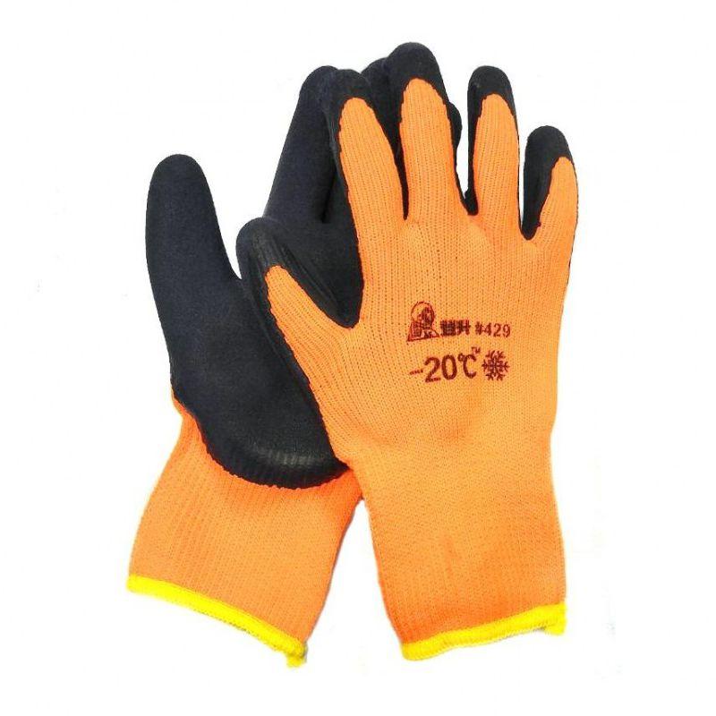 Перчатки рабочие зимние с покрытием из вспененного латекса #429