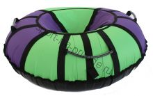 Тюбинг Hubster Хайп фиолетовый-салатовый 80 см