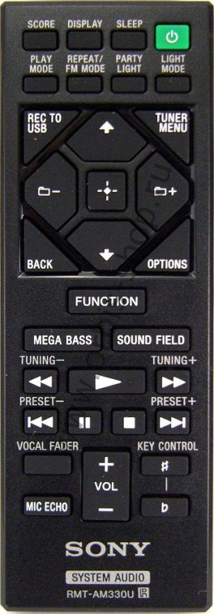 Пульт для музыкального центра Sony RMT-AM330U