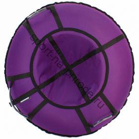 Тюбинг Hubster Хайп фиолетовый 110 см