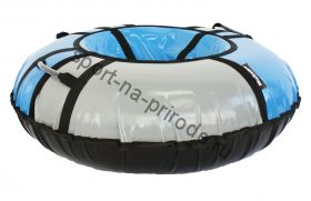 Тюбинг Hubster Sport pro синий-серый 90 см