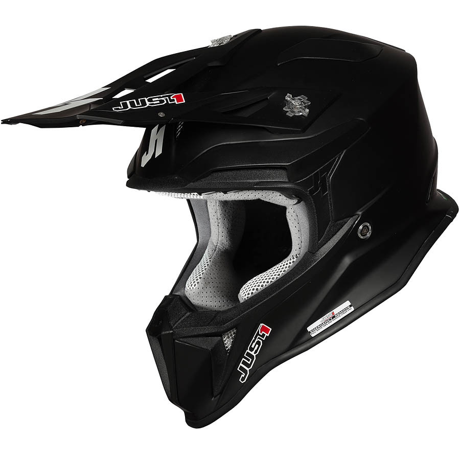 Just1 - J18 Solid Black Matt шлем, черный матовый
