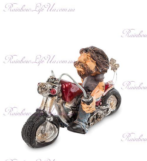 "Фигурка байкер с мотоциклом ""W.Stratford"""