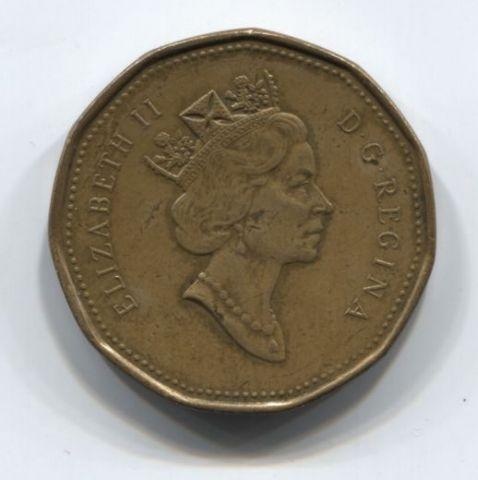 1 доллар 1993 года Канада