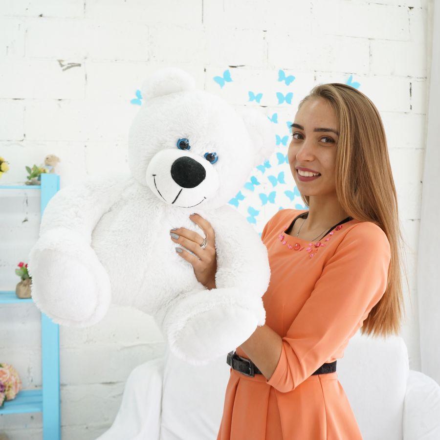 Мишка Вилли (ОР-70см)(Д-60см) Белый
