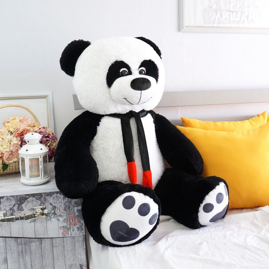 Мишка Нестор-Панда (ОР-150см)(Д-120см) Ч/б