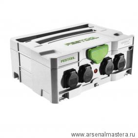 Портал-удлинитель электрический (Кабельный барабан в формате систейнера) FESTOOL SYS-PowerHub SYS-PH
