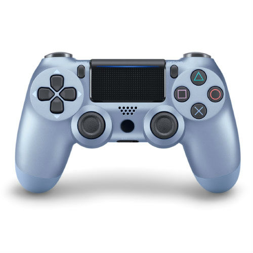 Джойстик для Playstation 4 Геймпад, Ps4, Titanium Blue Титановый Синий