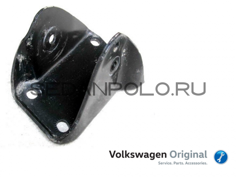 Кронштейн задней балки левый Volkswagen Polo Sedan