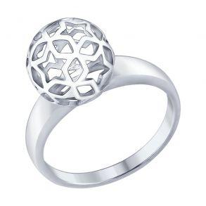 Кольцо из серебра 94012443 SOKOLOV
