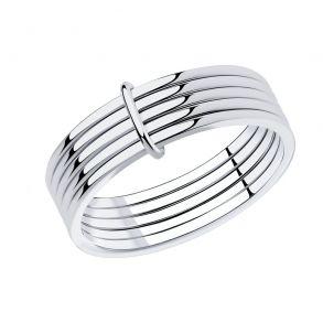 Кольцо из серебра 94013067 SOKOLOV