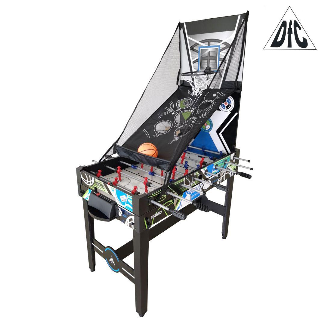 """DFC FESTIVAL2 48"""" 12 в 1 Игровой стол - трансформер"""