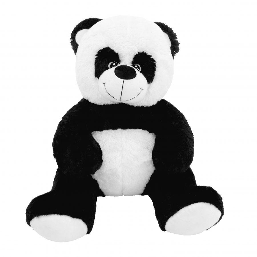 (Шкура) Панда Кузя (ОР-100см)(Д-80см) Черно-белый
