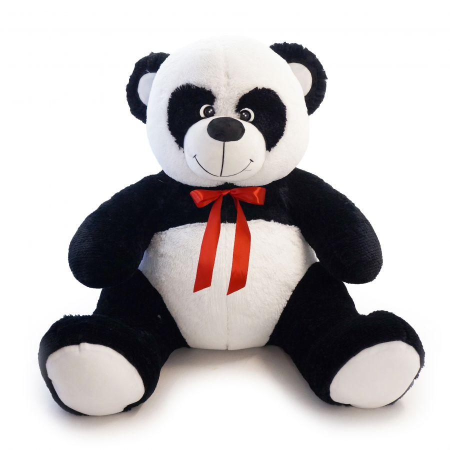 (Шкура) Панда Кузя (ОР-160см)(Д-120см) Черно-белый