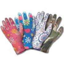 Перчатки с нитриловым покрытием  ЦВЕТОЧЕК