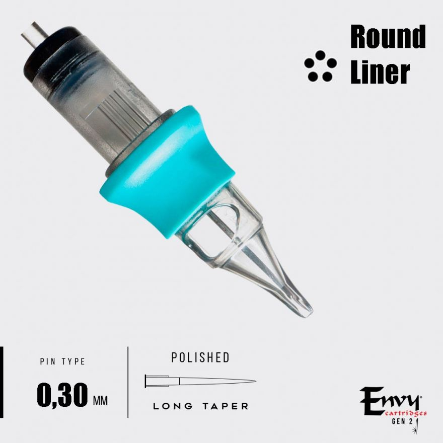 Картриджи Envy Gen 2. Round Liner 0,30 mm - 1 шт