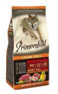 PRIMORDIAL Grain Free Сухой корм для собак с буйволом и скумбрией, 2кг