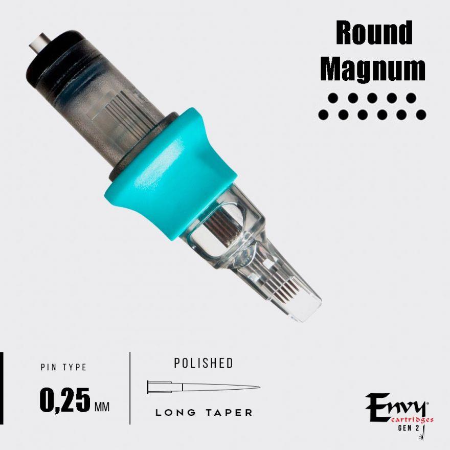 Картриджи Envy Gen 2. Round Magnum 0,25 mm - 1 шт