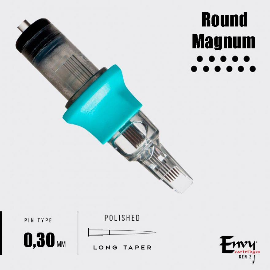 Картриджи Envy Gen 2. Round Magnum 0,30 mm - 1 шт