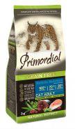 Primordial Grain Free Adult Сухой корм для кошек с лососем и тунцом, 400г