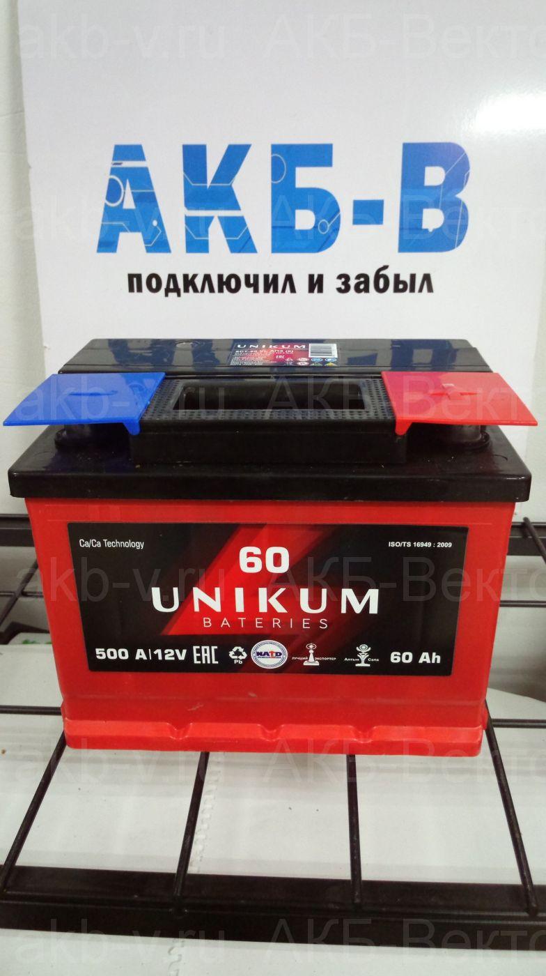 Unikum 55Ач 450А(EN)